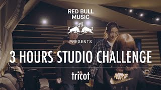 tricot-Red Bull Music Presents「3 HOUR STUDIO CHALLENGE」