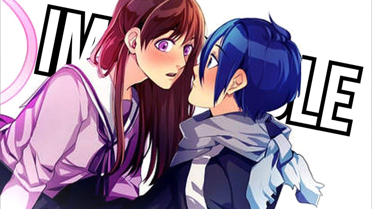 Noragami Hd Wallpaper Yato And Hiyori Impossible「amv」 Youtube