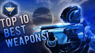 Destiny - TOP 10 BEST WEAPONS! (Destiny April Update 2016)
