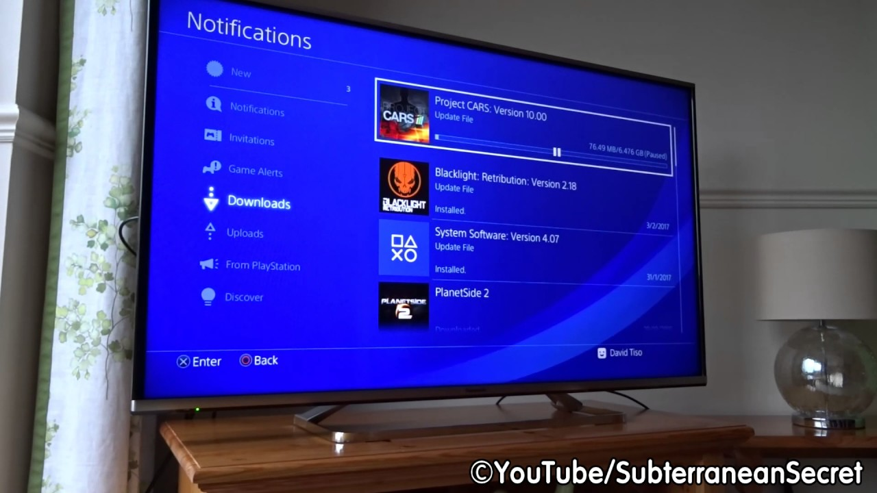 Report: ps4 4. 00 firmware will include download estimates to start.