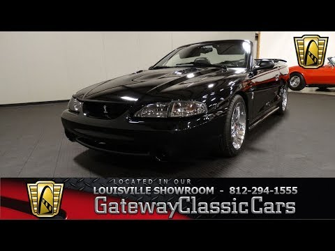 1996 Ford Mustang Cobra Convertible - Louisville Showroom - Stock # 1998