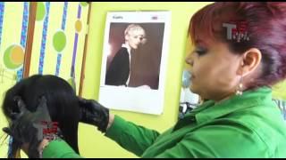 Aplicación de Keratin Shot con Lolita Shalom