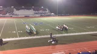 Cherry Hill High School East Marching Band - Drumline Battle
