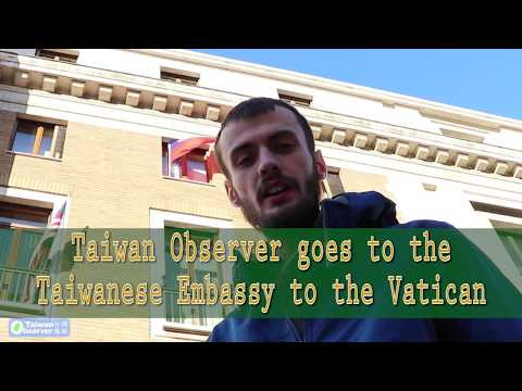 The Taiwanese Embassy To The Holy See (Vatican City)