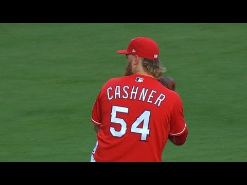 KC@TEX: Cashner tosses six scoreless innings