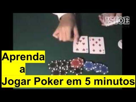 Aprenda a Jogar Poker em 5 minutos