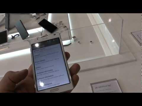 LG Optimus L7 II im Hands On [Deutsch]
