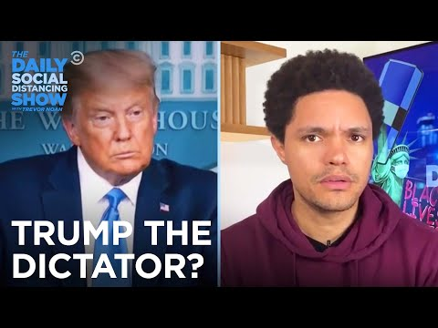 Donald Trump Refuses To Guarantee A Peaceful Transfer Of Power | The Daily Social Distancing Show