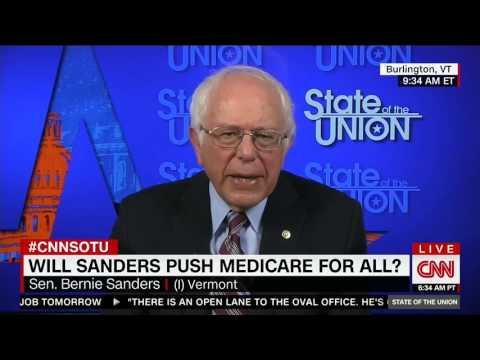 Bernie Sanders Dodges On Why Vermont Doesn't Have Universal Health Care
