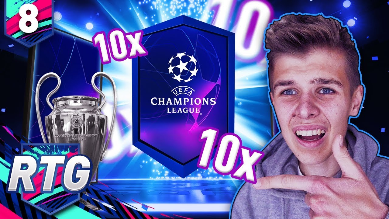 Paczki UEFA CHAMPIONS LEAGUE + INWESTYCJE | FIFA 19 Ultimate Team RTG [#8]