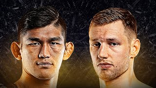 Aung La N Sang vs. Reinier De Ridder | All Finishes in ONE Championship