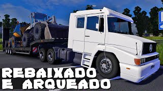 Rebaixado e Arqueado - Euro Truck Simulator 2