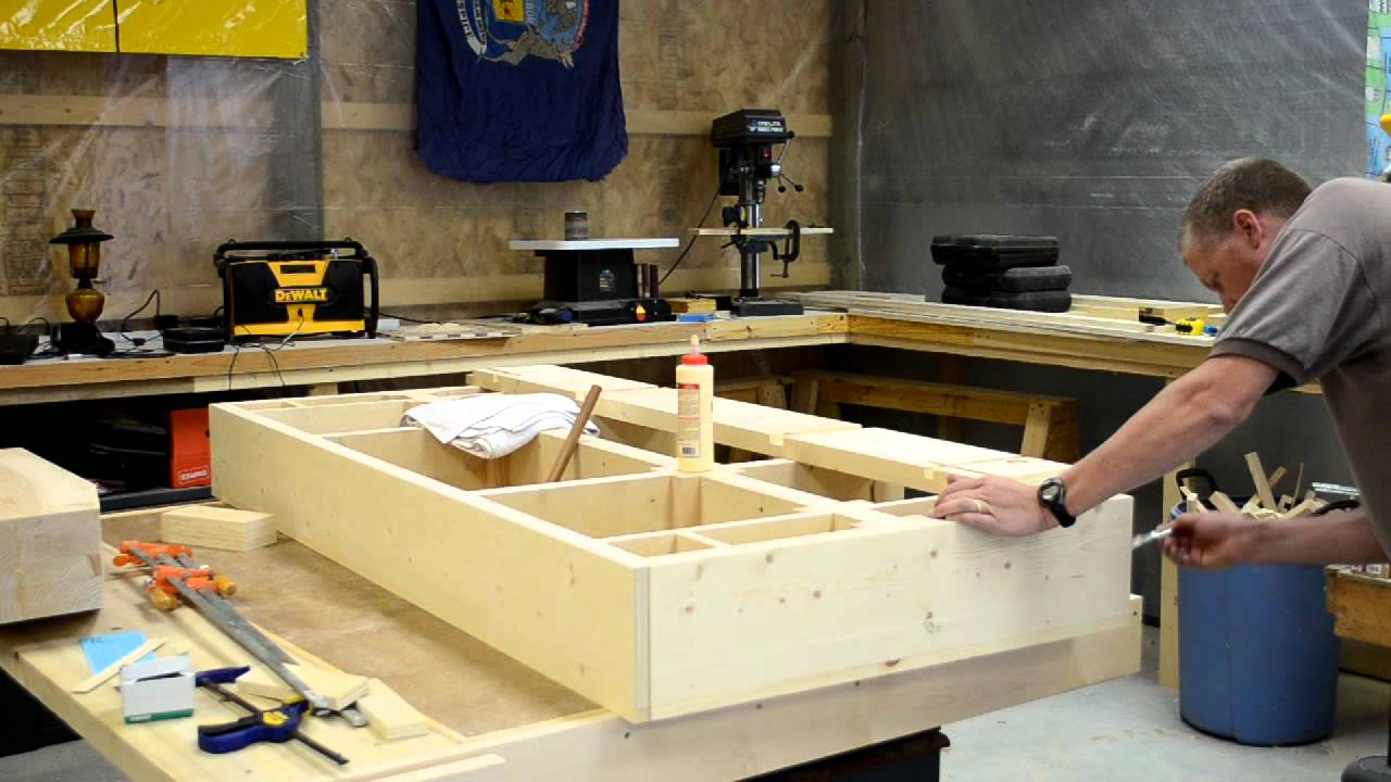 How to build a pool table part 4 efforts in frugality for How to build a billiard table