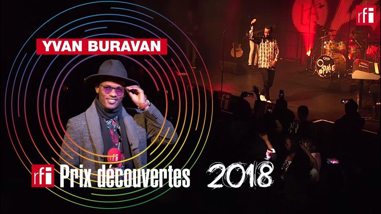 Image result for Yvan Buravan Prix découverte RFI