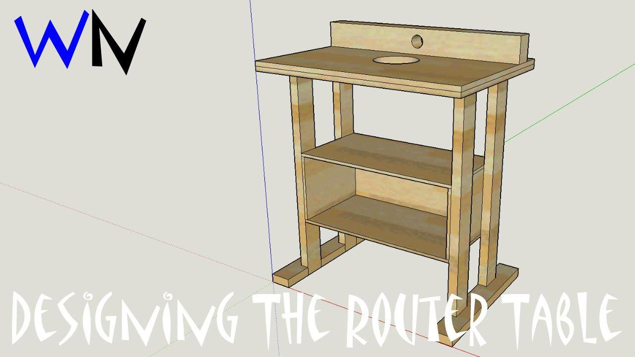 youtube router table videos