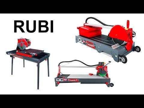 Механический плиткорез и камнерез Rubi выставка mitex 2015