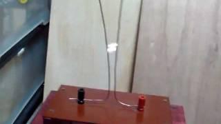 taka's high voltage    jacob's ladder#2 インダクションコイル