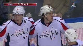 Oshie gets first goal vs former team, has now scored against every NHL team
