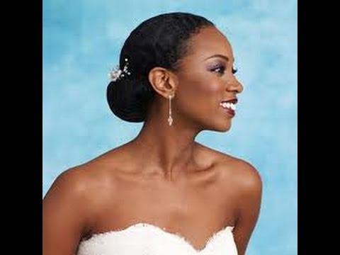 African American Bridal Makeup II Powder Highlight
