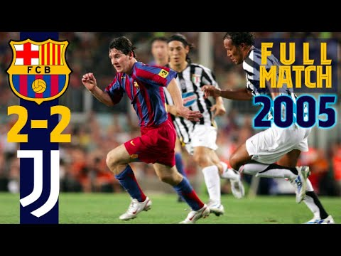 FULL MATCH   The Day The World Fell In Love With Leo Messi   FC Barcelona – Juventus (2005)