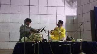 Vivek Sonar - Flute, Sandip Bhattacharya - Tabla.