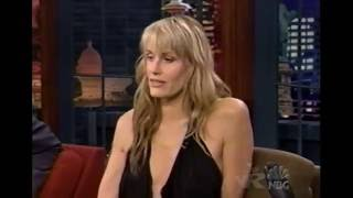 DARYL HANNAH HAS FUN WITH LENO