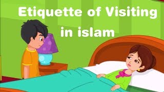 Etiquette of Visiting in islam - islamic cartoon for kids in english