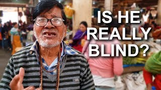 "Lying ""Blind"" Scammer in India (How to Avoid Sympathy Scams!)"