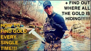 HOW TO FIND GOLD EVERY SINGLE TIME!!! AND WHERE ITS HIDING!!!