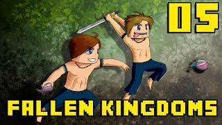 Fallen Kingdoms : Sauts de Lapin | Jour 05 - Minecraft