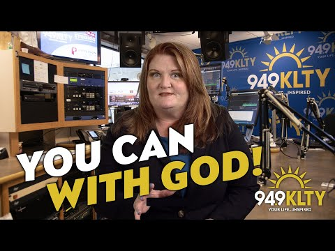 you can with god inspiration from 94 9 klty youtube youtube