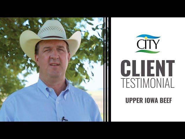 Client Testimonial - Upper Iowa Beef