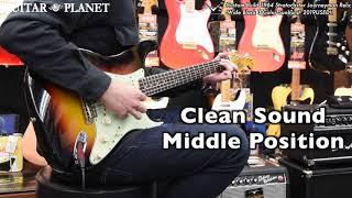 Custom Build 1964 Stratocaster Journeyman Relic -Wide Black 3 Color Sunburst- 2019USED!!