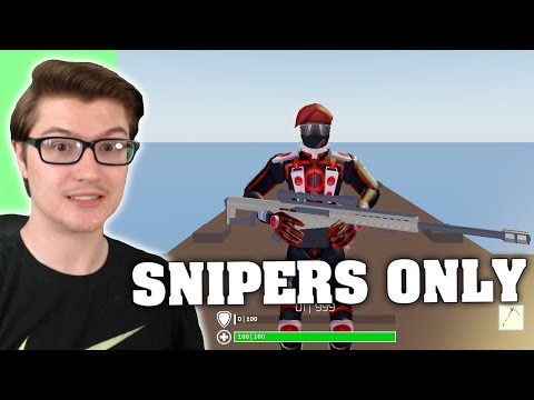I USED SNIPERS ONLY IN STRUCID! (ROBLOX FORTNITE)