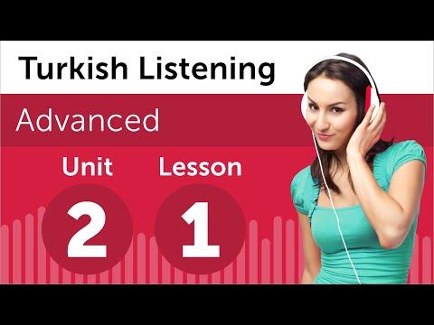 Turkish Listening Practice - Deciding on a Hotel in Turkey