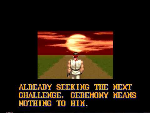 Image result for streetfighter 2 ryu seeking next challenge