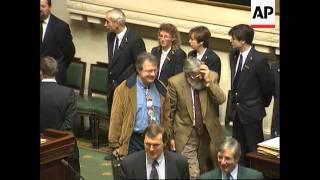 Belgium - Parliament Debate On Claes Dilemma
