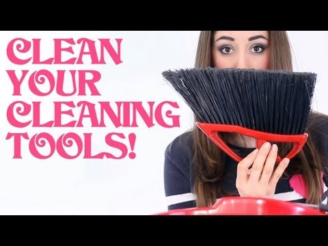 How to Clean Your Cleaning Tools! Home Cleaning Ideas That Save Time & Money (Clean My Space)