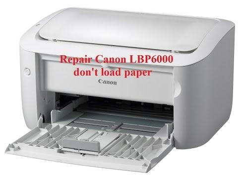 Canon LBP6000 don't load paper