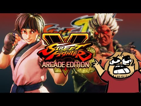 SF4 Arcade Run w/Extra Boss: SAKURA - Street Fighter 5 Arcade Edition