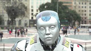 Tennebreck Rebecca | Song about Barcelona From Robot Nanny Stefo