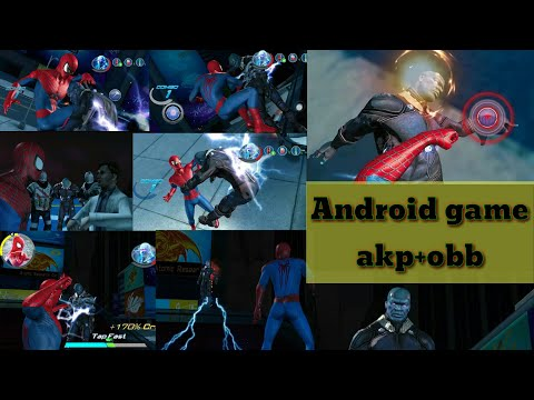 How to download The Amazing Spider-Man 2 from Android games APK+OBB FILE