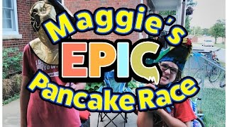 Classroom games for kids: Maggie's Epic Pancake Race (library storytime)