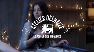 Découvrez Atelier Delhaize, notre merveilleux pop-up de fin d'année