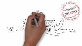 Как нарисовать супер  мэна героя русалку(Как нарисовать картинку поэтапно карандашом за короткий промежуток времени. Видео рассказывает о том,..., 2014-07-02T05:56:20.000Z)