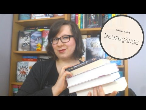 Neuzugänge Februar & März 2017 - Bücher Haul & eine DVD | schokigirl