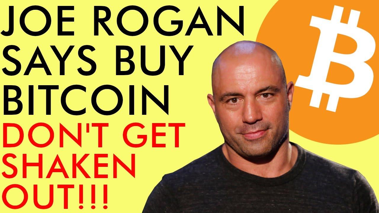 JOE ROGAN SAYS BUY BITCOIN!!! BULLISH AF!!! DON'T GET SHAKEN OUT!!! Crypto News 2020