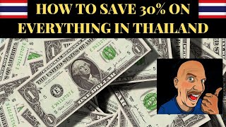 HOW TO SAVE 30% OF YOUR MONEY IN THAILAND V471