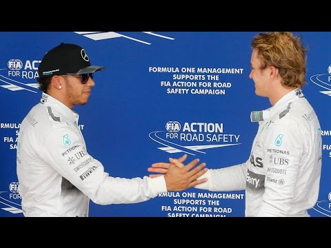 Lewis Hamilton and Nico Rosberg's F1 rivalry – in 60 seconds