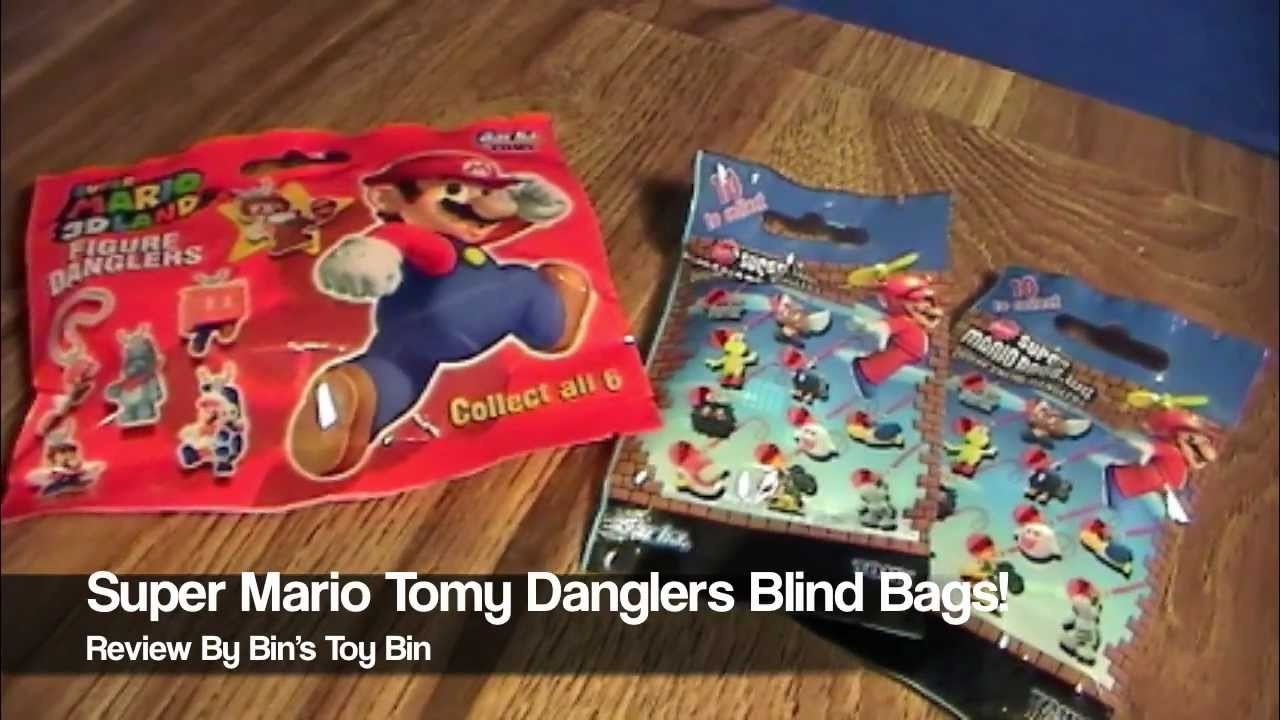 Super Mario Enemy Tomy Gacha Danglers Blind Bags Review